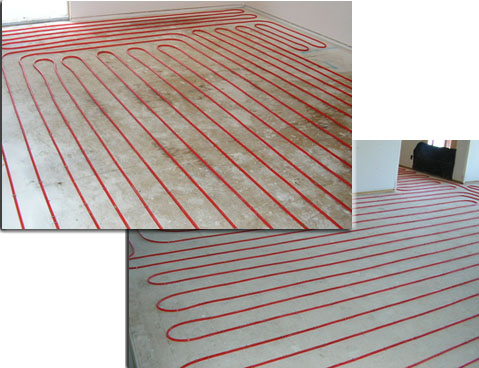 with radiant heat you no longer have the discomfort of cold floors with drafty hot and cold areas your floors will be warm to the touch with a constant